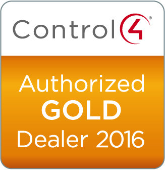 Control4 Authorized Gold Dealer 2016