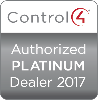 Control4 Authorized Platinum Dealer 2017